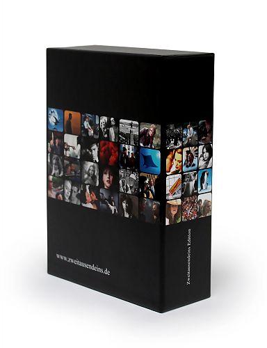 Der Sammelschuber für 5 DVDs. Der schicke, stabile und sorgfältig gestaltete Schuber im Design der Zweitausendeins Film Edition. Nur bei Zweitausendeins. für 2,95€