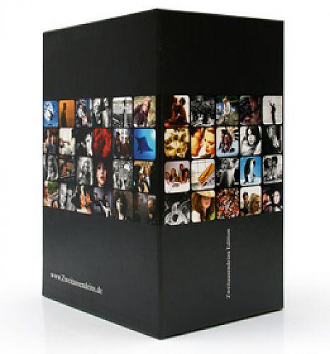 Image For Der Sammelschuber für 10 DVD. Der schicke, stabile und sorgfältig gestaltete Schuber im Design der Zweitausendeins Film Edition. Nur bei Zweitausendei
