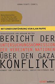 Bericht der Untersuchungskommission der Vereinten Nationen über den Gaza-Konflikt von Richard Goldstone für 4,95€
