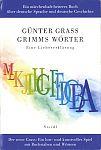 Grimms Wörter von Günter Grass für 29,80€