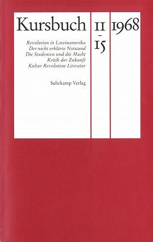 Kursbuch 1968 von Hans Magnus Enzensberger für 6,95€