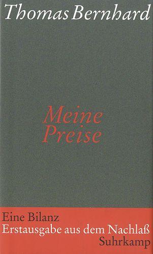 Meine Preise von Thomas Bernhard für 4,95€