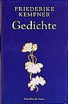 Gedichte von Friederike Kempner für 6,95€