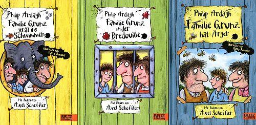 Familie Grunz Paket. 3 Bde. von Philip Ardagh u.a. für 9,95€