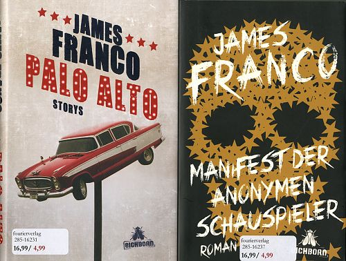 James Franco-Paket. 2 Bände von James Franco für 9,95 €