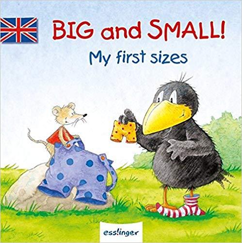 Kleiner Rabe Socke: Big and Small - My first sizes von Nele Moost für 2,95€