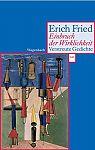 Einbruch der Wirklichkeit. Verstreute Gedichte von Erich Fried für 3,95€