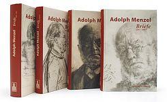 Adolph Menzel. Briefe 1830 - 1905. 4 Bände von Claude Keisch u.a. Hg. für 49,95€