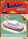 Papertoys Autos von Simon Heptinstall für 19,99€