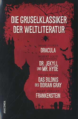 Die Gruselklassiker der Weltliteratur. 4 Bände in Kassette für 19,95€