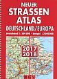 Neuer Straßenatlas Deutschland/Europa 2017/18