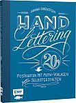 Handlettering: 20 Postkarten mit Motiv-Vorlagen zum Selbstgestalten von Hannah Rabenstein für 7,99€
