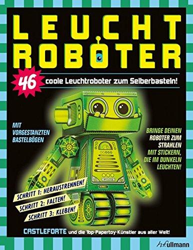 Leuchtroboter zum Selberbasteln von Castleforte für 19,99€