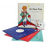 Der Kleine Prinz. Premium Edition Vinyl von Antoine de Saint - Exupèry für 24,90€