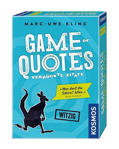 Game of Quotes - Verrückte Zitate Spiel von Marc-Uwe Kling für 14,99€