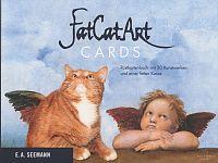 Fat Cat Art Cards. Postkartenbuch mit 20 Kunstwerken und einer fetten Katze für 12,90€
