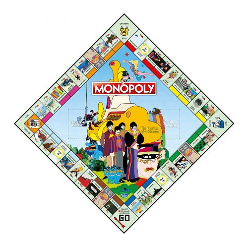 The Beatles - Yellow Submarine Monopoly für 39,99 €