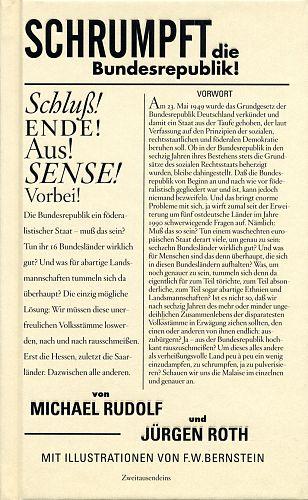 Schrumpft die Bundesrepublik von Jürgen Roth u.a. für 3,95€