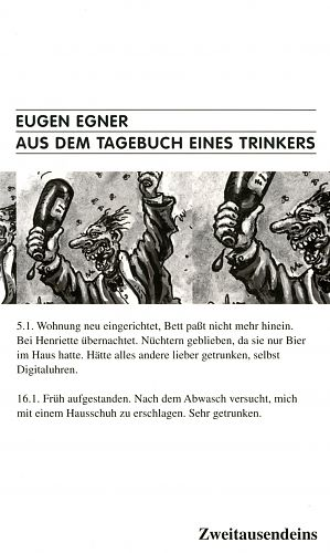 Aus dem Tagebuch eines Trinkers von Eugen Egner für 4,90€