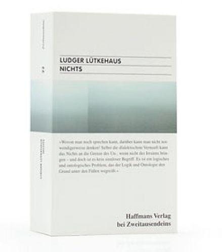 Nichts von Ludger Lütkehaus für 7,90€