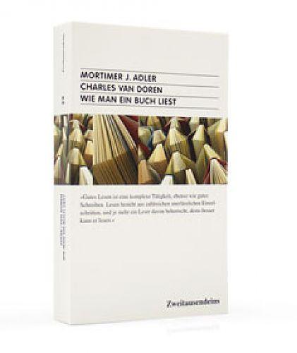 Wie man ein Buch liest von Adler & van Doren für 9,90€