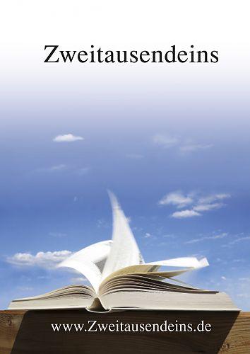 Zweitausendeins Notizbuch Motiv Literatur für 2,95€