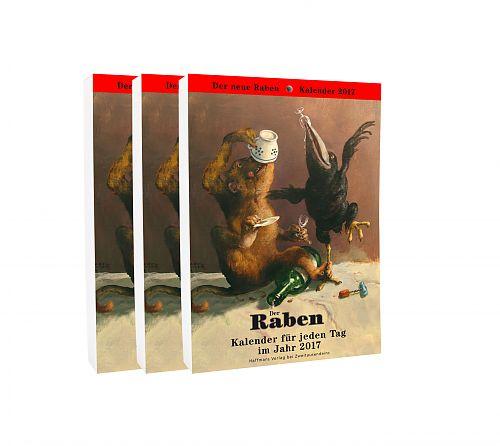 Raben-Kalender 2017. 3er Paket für 44,95€