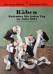 Der Raben-Kalender 2021 für 17,95€