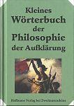 Kleines Wörterbuch der Philosophie der Aufklärung von Heinrich Schmidt für 6,90€