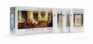 Journal 1851-1896. 11 Bände plus Beibuch im Schuber von Edmond und Jules de Goncourt für 199,00€