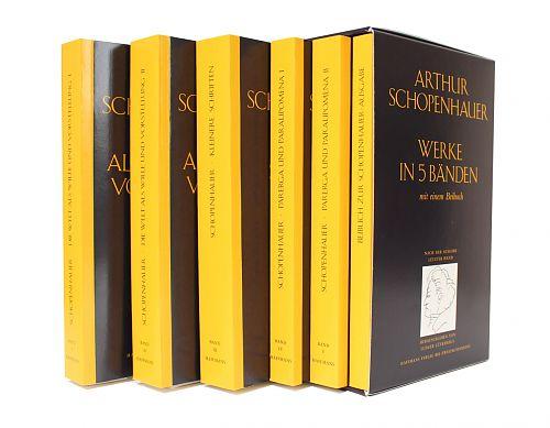 Arthur Schopenhauers Werke in fünf Bänden von Arthur Schopenhauer für 39,90€