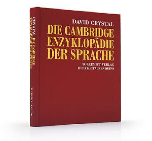 Die Cambridge Enzyklopädie der Sprache von David Crystal für 7,95€