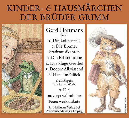 Liest Kinder- & Hausmärchen der Brüder Grimm von Gerd Haffmans für 4,99€