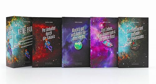 Per Anhalter durch die Galaxis. 1-4 von Douglas Adams für 39,95€