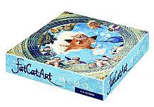 FatCatArt. Memo. Gedächtnisspiel mit 36 Kunstwerken und einer fetten Katze für 14,90€