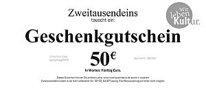 Geschenkgutschein: 50 Euro für 50,00€