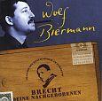 Brecht, Deine Nachgeborenen - Live von Wolf Biermann für 15,99€