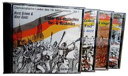 Demokratische Lieder des 19. Jahrhunderts von Verschiedene Interpreten für 14,99€