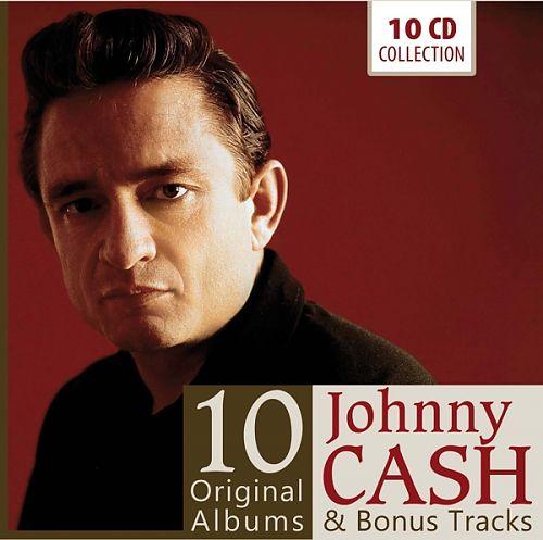 10 Original Albums von Johnny Cash für 13,99€