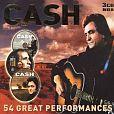 Johnny Cash: 54 Great Performances von Verschiedene Interpreten für 9,99€