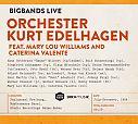 Bigbands Live Feat. Mary Lou Williams And Caterina Valente von Orchester Kurt Edelhagen für 4,99€