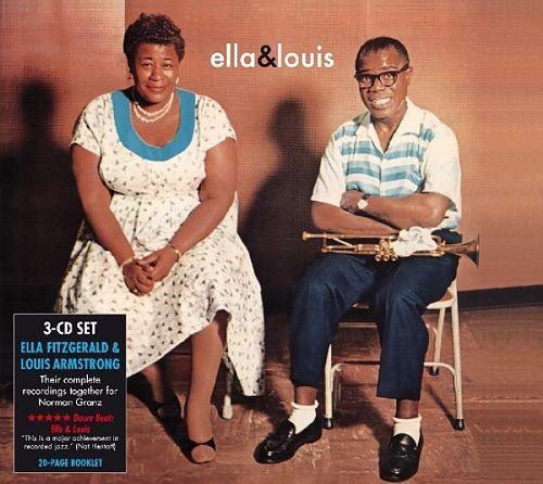 Complete Norman Granz Sessions von Ella Fitzgerald & Louis Armstrong für 9,99€