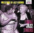 Female Jazz Singers - Milestones of Jazz Legends von Verschiedene Interpreten für 12,99€