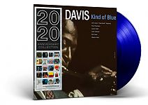 Kind Of Blue Limited Edition Blue Vinyl von Miles Davis für 14,99 €