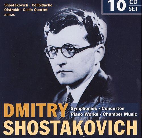 Sinfonien, Konzerte, Klavierwerke, Kammermusik von Dmitri Schostakowitsch für 6,99€
