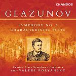 Sinfonie Nr. 6 op. 58 von Alexander Glazunov für 9,99€