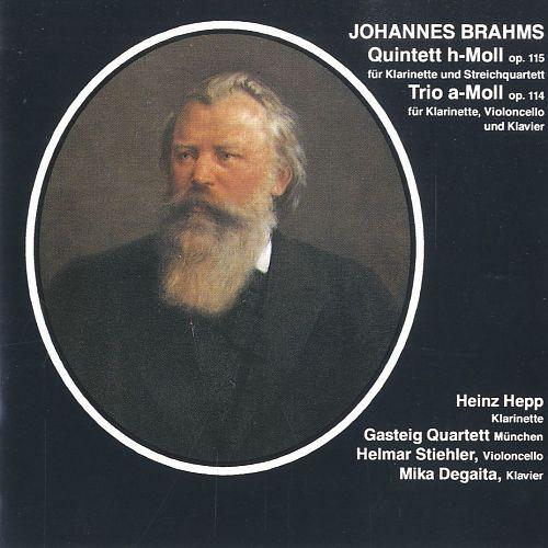 Quintett h-Moll op. 115 von Johannes Brahms für 4,99€