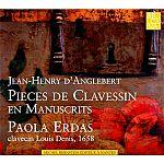Pieces de Clavessin en Manuscrits von Jean-Henri d Anglebert für 9,99€