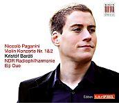 Violin Konzerte 1 & 2 Kulturspiegel-Edition von Kristóf Baráti für 9,99€