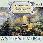Werke für Orgel & Cembalo von Bernardo Pasquini für 24,99€